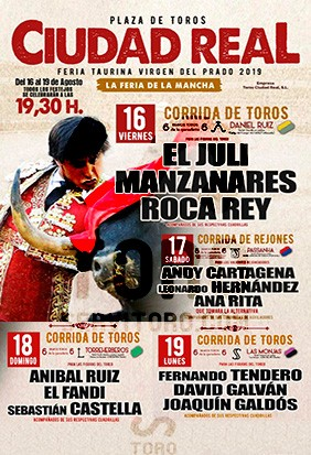 Get tickets for bullfight in Ciudad Real