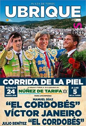 Gran corrida Mixta en Ubrique Cádiz. Feria 2018.
