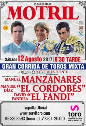 Entradas a la venta Motril (Granada)