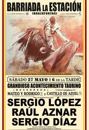 Grandioso acontecimiento Taurino en Barriada de la Estación, Ciudad Real.