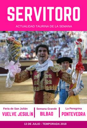 Actualidad taurina semanal: Vuelve Jesulín de Ubrique