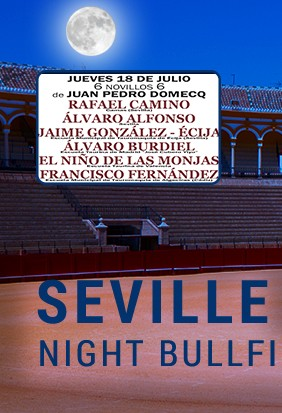 Buy your bullfight tickets now! Seville show!