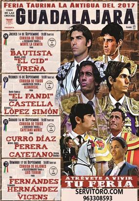 Bullfight tickets Guadalajara, September