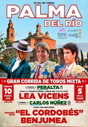 Corrida de toros Mixta en Palma del Río.