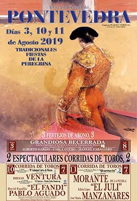 La Peregrina Bullfighting fair 2019
