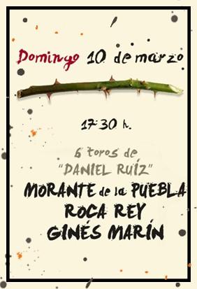Morante, Roca Rey y Ginés Marín. Reserva tus entradas