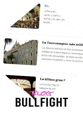 Bullfighting blog