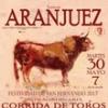 La corrida en Aranjuez por San Fernando