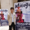 Pablo Aguado attends the presentation of the Picassian Bullfight